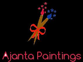 ajanta painting my logo